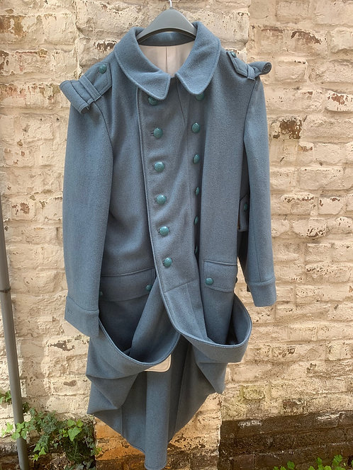 Reproduction French Horizon blue great coat