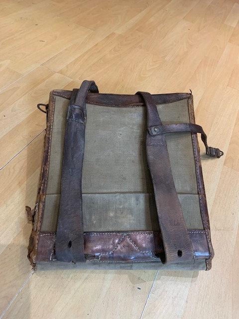 WW! German Backpack Benny Spiro, Hamburg, 1915