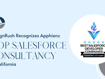 DesignRush Recognizes Apphienz a Top Salesforce Consultancy in California