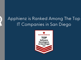 Apphienz is Ranked Among The Top IT Companies in San Diego