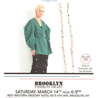 OGONEWYORK's Brooklyn Fashion Night  >>> 25% of proceeds will be donated to Grandma's Love