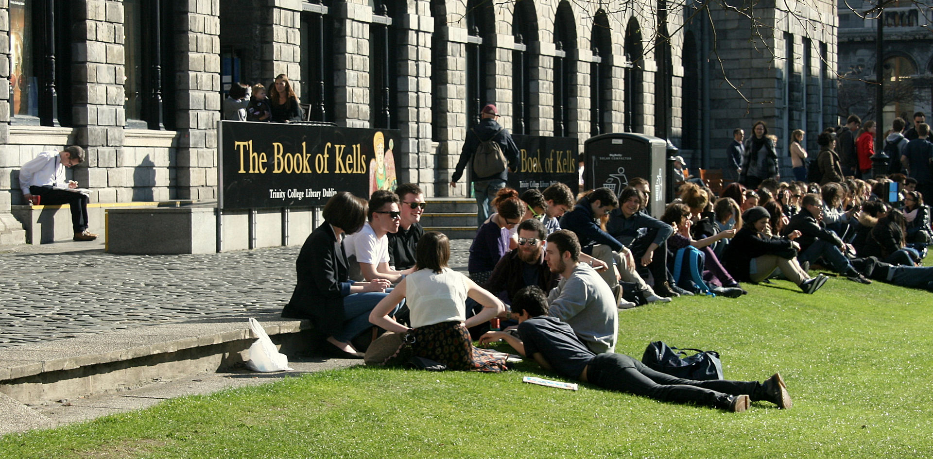 Fellows Square Campus Book of Kells Old