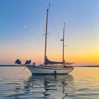 Sunset Anchor