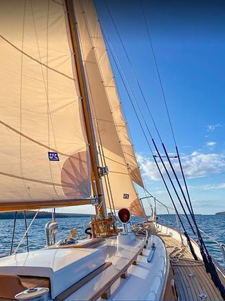 True North Sailing's boat