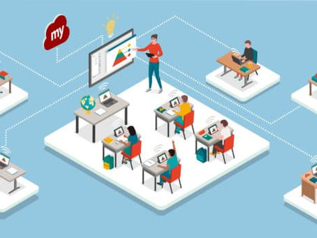 Hybrid learning trends for schools