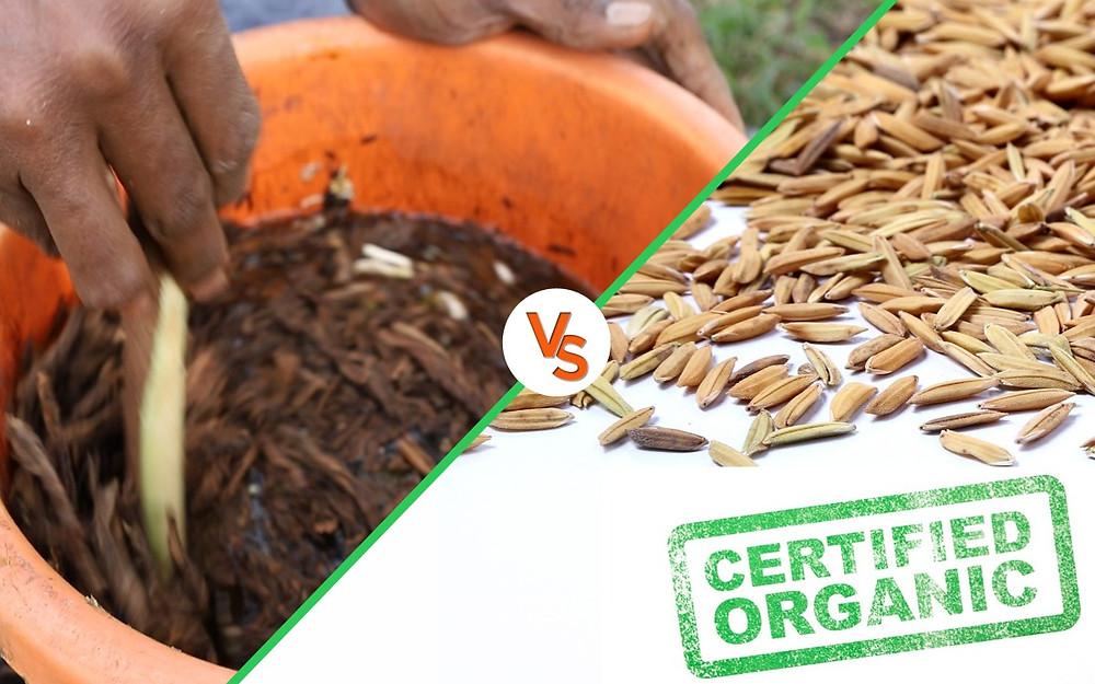 Natural farming vs organic farming