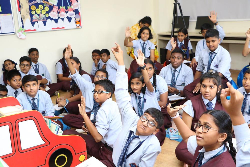 Importance of classroom interaction | Best CBSE Schools in Visakhapatnam