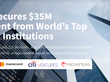 Flybits Secures $35M Investment from World's Top Financial Institutions