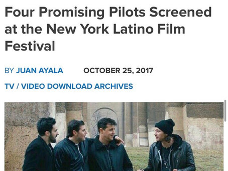 ADULTHOOD Premieres at the HBO NY LATINO FILM FESTIVAL to Critical Acclaim.