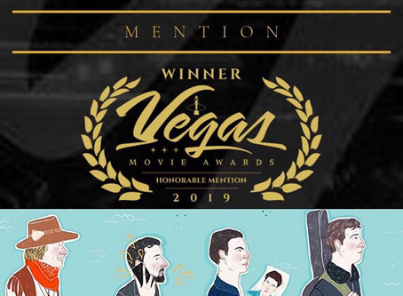"Oct 14, 2019- ADULTHOOD receives ""Honorable Mention"" at 2019 VEGAS MOVIE AWARDS!"