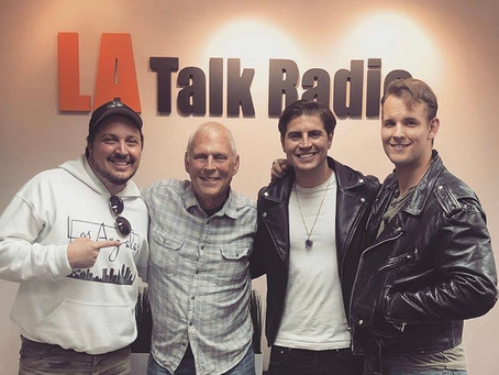 "April 9, 2019- Cast of ""DEATH OF A SALESMAN"" on LA TALK RADIO."