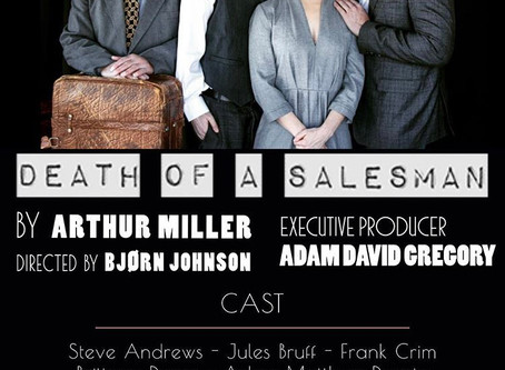"March 7, 2019 - Official Poster for Arthur Millers ""Death Of A Salesman""."