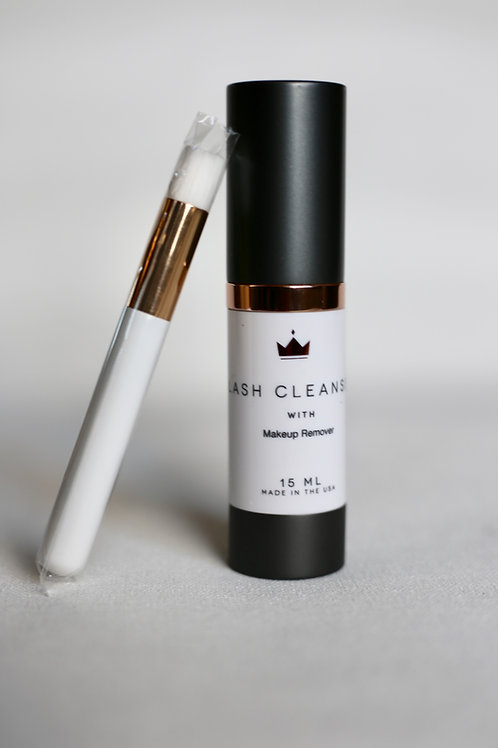 Lash Cleanser With Makeup Remover