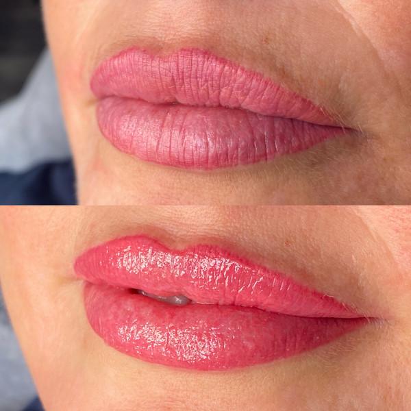 Lip Blushing Touch Up