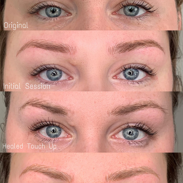 Microblading Over Time