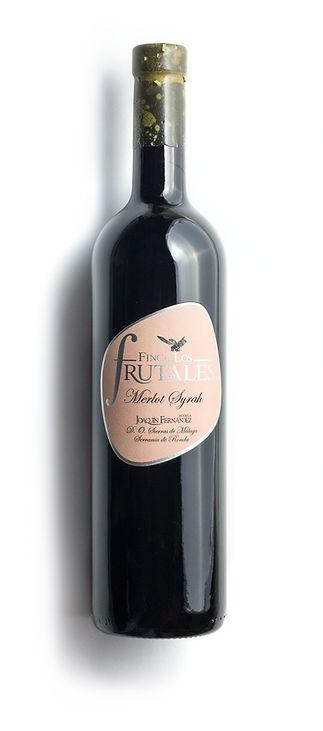 Finca Los Frutales Merlot Syrah Red Wine, Ronda