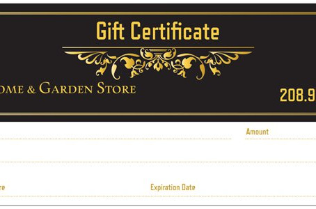Gift Certificates available here...