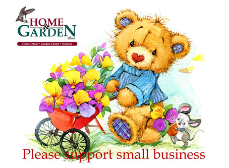 Please support local businesses...