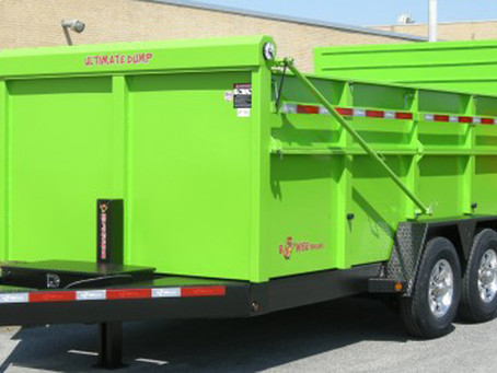 We haul all kinds of debris and landscape material...