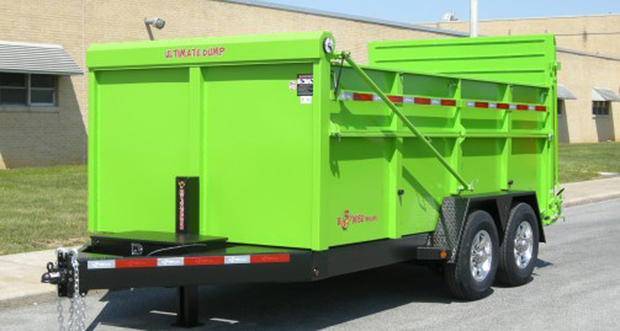One of our dump trailers...