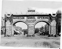 Gunnison Tunnel Opening Celebration 1909