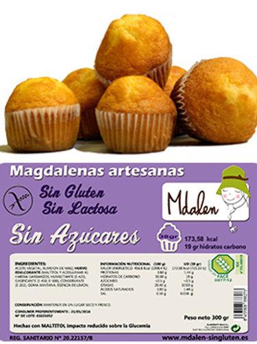 MAGDALENES S/SUCRE MDALEN 300G