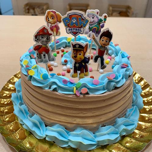 PASTÍS 4RAC CAKE TOPPER PATRULLA CANINA