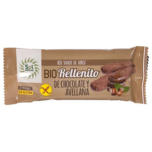 RELLENITO DE XOCOLATA I AVELLANA SOLNATURAL 25G