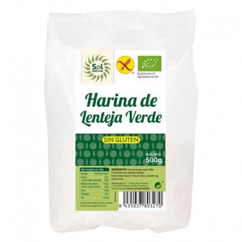 FARINA LLENTIA VERDA SOLNATURAL 500GR