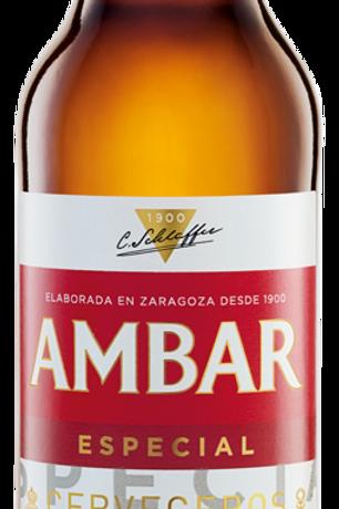 CERVESA AMBAR 0,0