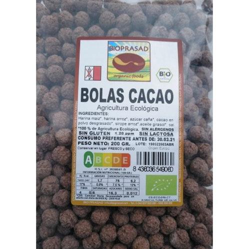 BOLES CACAO BIOPRASAD 200G