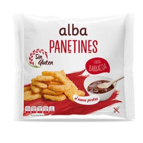 PANETINES BARBACOA ALBA 90G