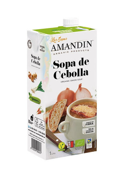 SOPA DE CEBA AMANDIN 1L