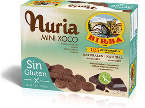 GALETES MINI DE XOCOLATA NURIA 200G