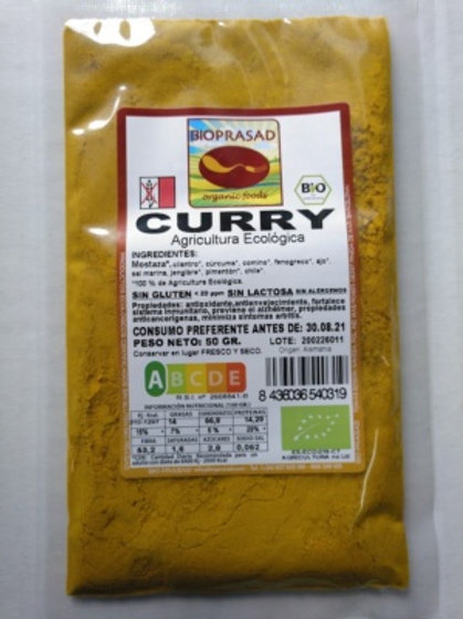 CURRY BIOPRASAD 50G