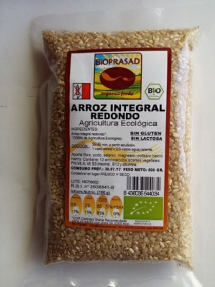 ARRÒS INTEGRAL RODÓ BIOPRASAD 500G