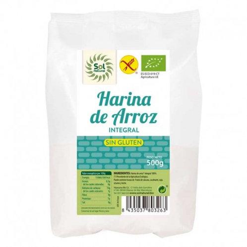 FARINA D'ARRÒS INTEGRAL SOLNATURAL 500GR
