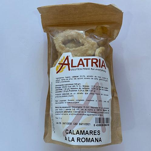 CALAMARS A LA ROMANA ALATRIA 150G