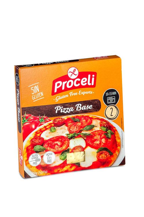 BASE PIZZA PROCELI 2x125G