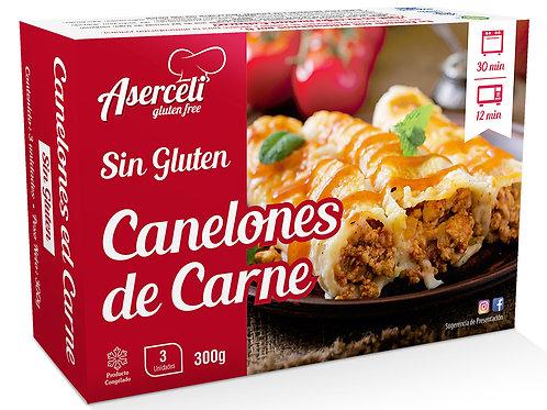 CANELONS DE CARN ASERCELI 350G