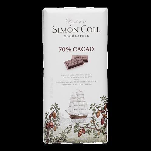 XOCOLATA 70% SIMON COLL 85G