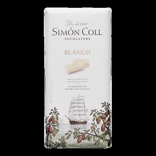 XOCOLATA BLANCA SIMON COLL 85G