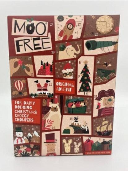 CALENDARI ADVENT MOO FREE 100G