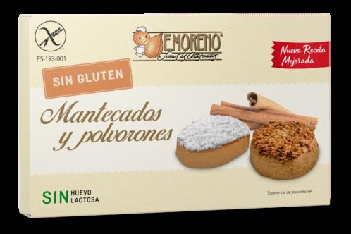 MANTECADOS I POLVORONS E.MORENO 400G