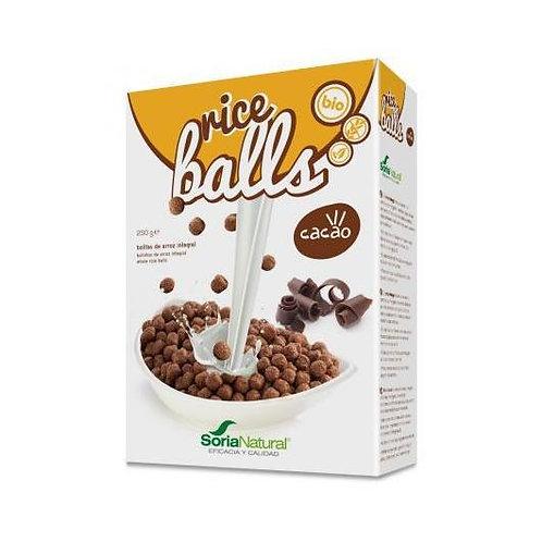 CEREALS RICE BALLS SORIA NATURAL 250G