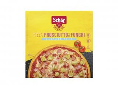PIZZA PROSCIUTTO & FUNGHI SCHAR 350G
