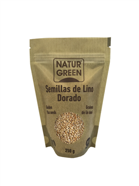 LLAVORS DE LLI DAURAT NATUR GREEN 250GR