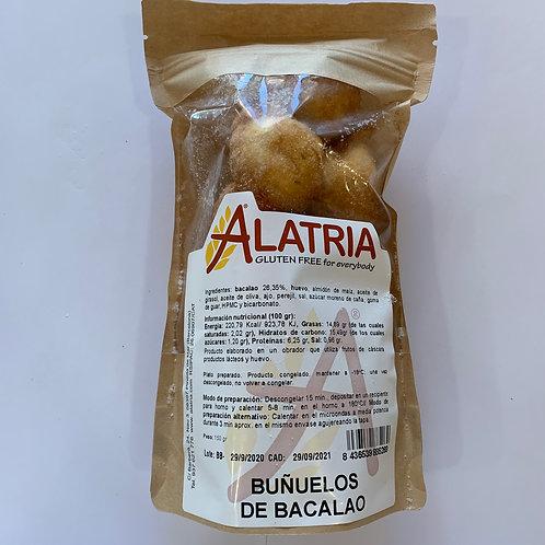 BUNYOLS DE BACALLÀ ALATRIA 150G