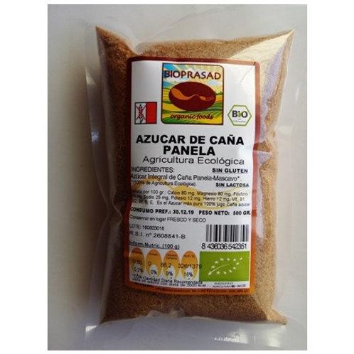 SUCRE INTEGRAL DE CANYA PANELA BIOPRASAD 500G