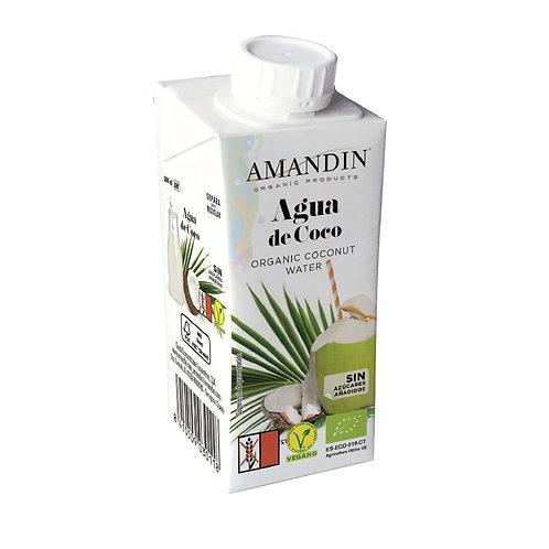 AIGUA DE COCO AMANDIN 200ML